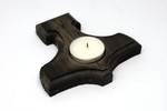 Mjolnir / Thor's hammer candle holder
