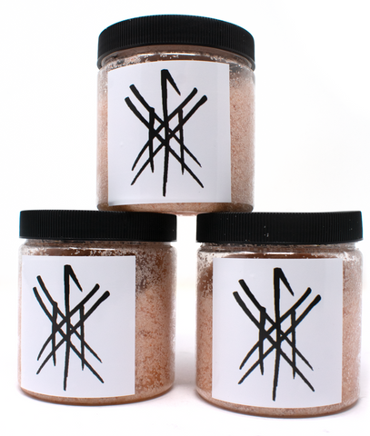Cleansing ritual salt scrubs - 8oz - Oreamnos Oddities
