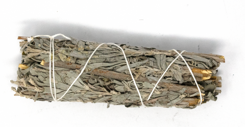 Image of Frankincense smudge stick (mountain sage & frankincense resin) - Oreamnos Oddities
