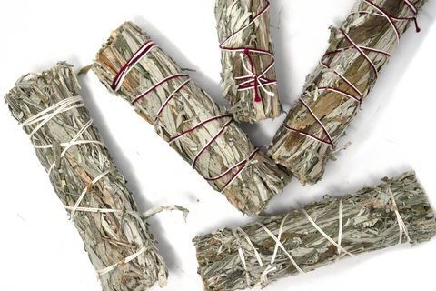 Image of Black sage smudge stick (mugwort) - Oreamnos Oddities