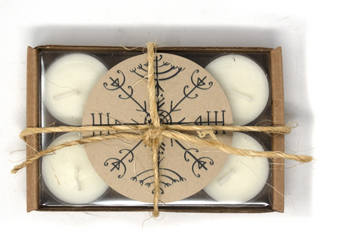 Scented tealight ritual candles - 6 pack - Oreamnos Oddities