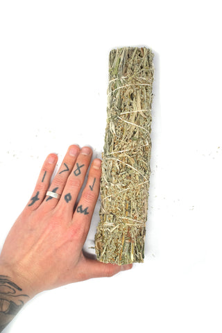 "Image of XXL 8"" Black sage smudge stick (mugwort)"