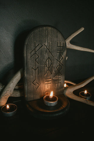 Altar of the norse gods
