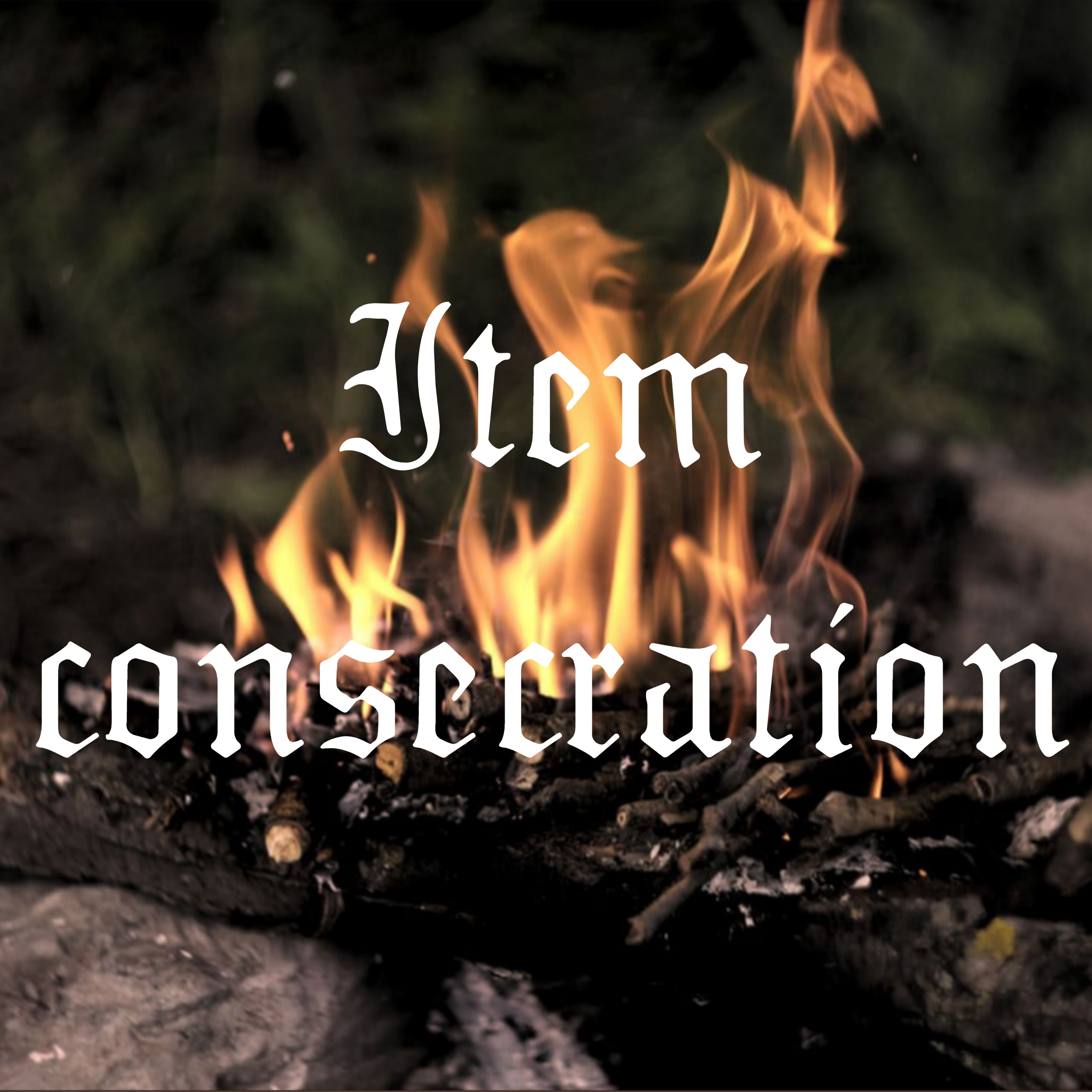 Item consecration