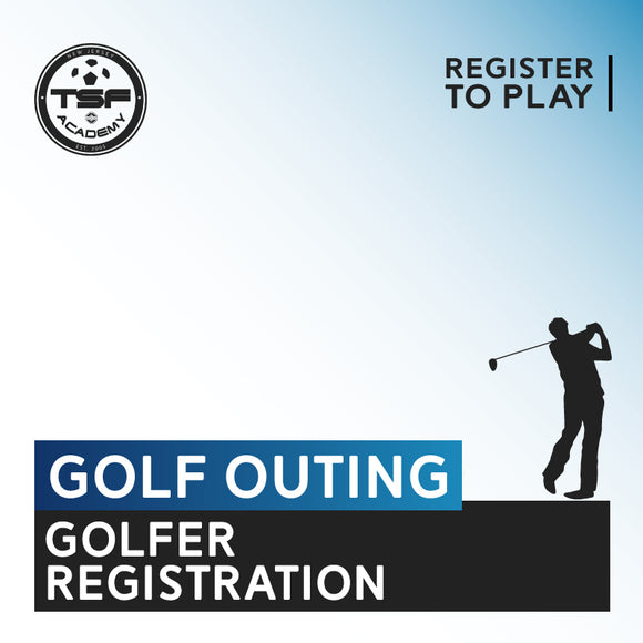 TSF Academy Golf Outing Golfer Registration