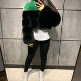 Shego Fox Fur Bomber