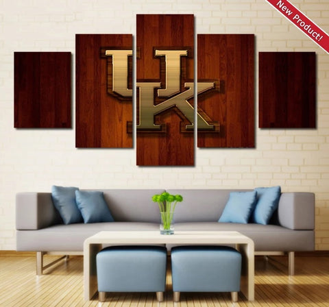 Kentucky Wildcats Wall Art Canvas Painting