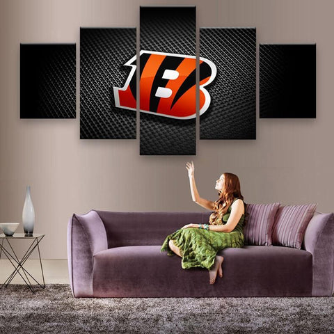 Cincinnati Bengals Wall Art Canvas Painting