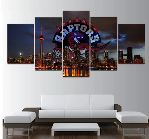 Toronto Raptors Wall Art Home Decor Painting Canvas