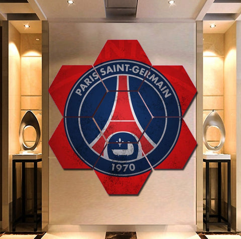 Paris Saint-Germain F.C. Wall Art | Canvas Painting | Decor Framed