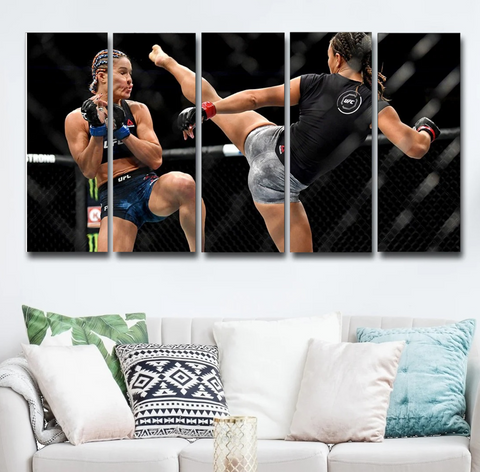 Michelle Waterson Wall Art Canvas Decor Poster Framed