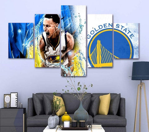 Stephen Curry Canvas Wall Art Painting Home Decor Framed