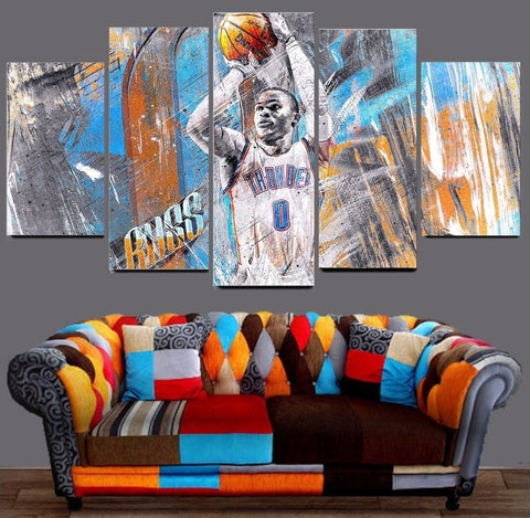 Thunder Westbrook Wall Art Canvas