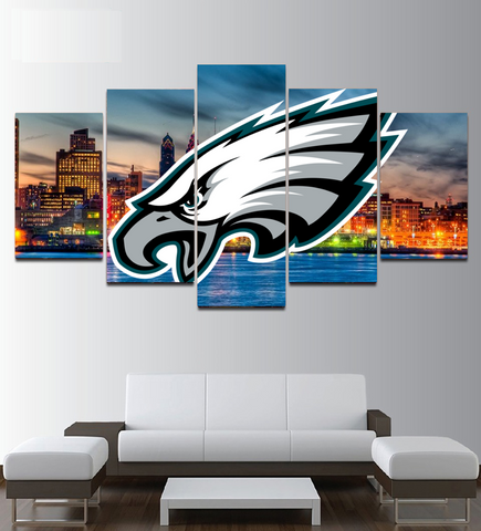 Eagles wall art painting on canvas framed