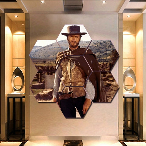 The Good, the Bad and the Ugly Clint Eastwood Wall Art Framed