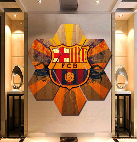 Barcelona F.C. Wall Art | Canvas Painting Framed