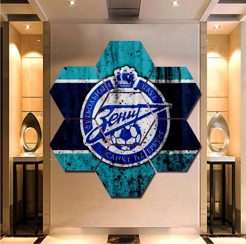 FC Zenit Saint Petersburg Wall Art | Canvas Painting Framed