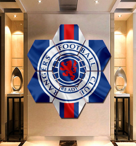 Rangers F.C. Wall Art | Canvas Painting Framed | Free Shipping