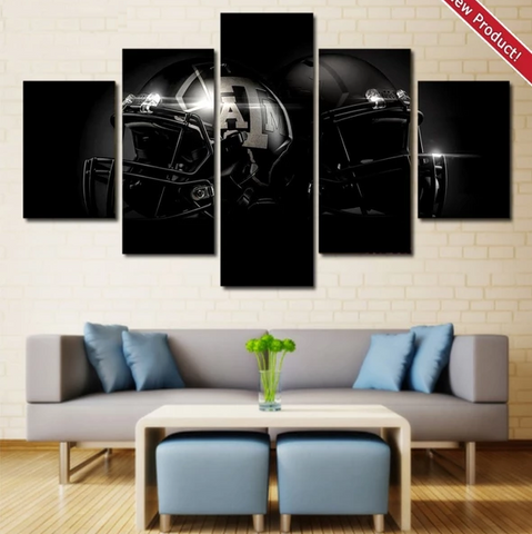 Texas A&M Aggies Wall Art Painting Canvas Decor Poster
