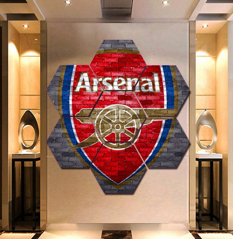 Arsenal F.C. Wall Art | Canvas Painting Framed