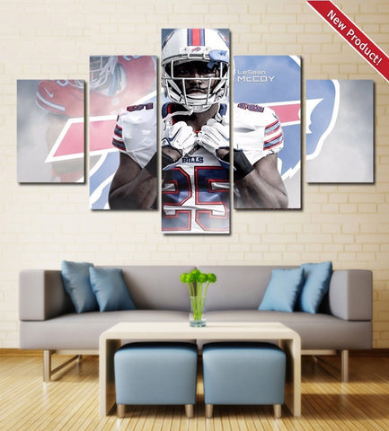 LeSean McCoy wall art canvas bills