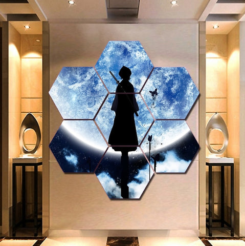 Animated Series Bleach Wall Art | Canvas Painting | Free Shipping