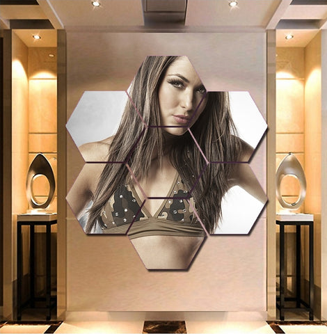 Brie Bella Wall Art | Canvas Painting Framed | The Bella Twins