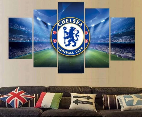 Chelsea Wall Art Painting Canvas Poster Print