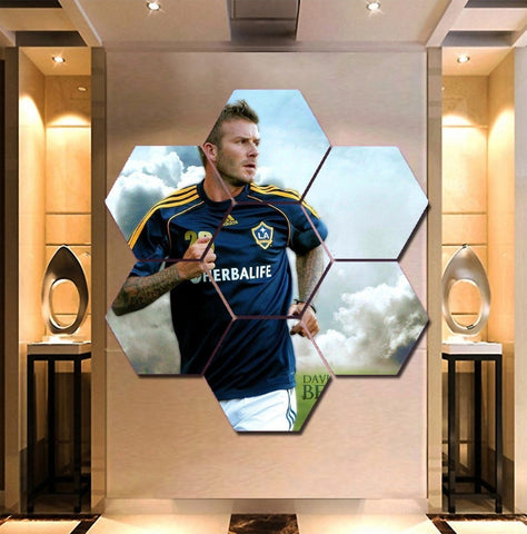 David Beckham Wall Art | Canvas Painting Framed