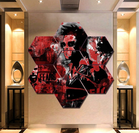 Fight Club Wall Art | Canvas Painting Framed