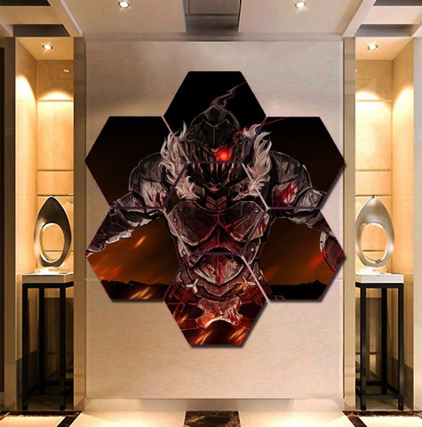 Goblin Slayer Wall Art | Canvas Painting Framed | Free Shipping