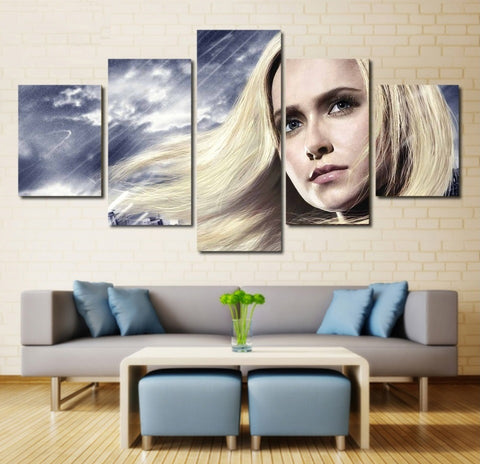 Heroes Hayden Panettiere Wall Art Canvas Framed Painting