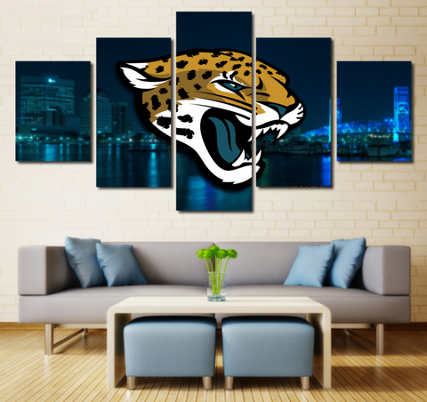 Jacksonville Jaguars Wall Art Canvas Painting Decor Poster