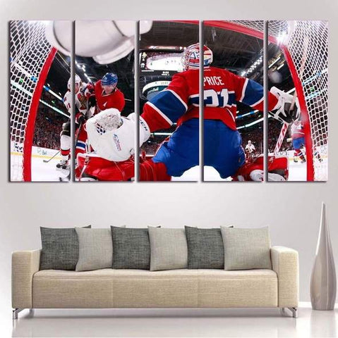 Carey Price Wall Art Montreal Canadiens Painting Canvas Decor Poster