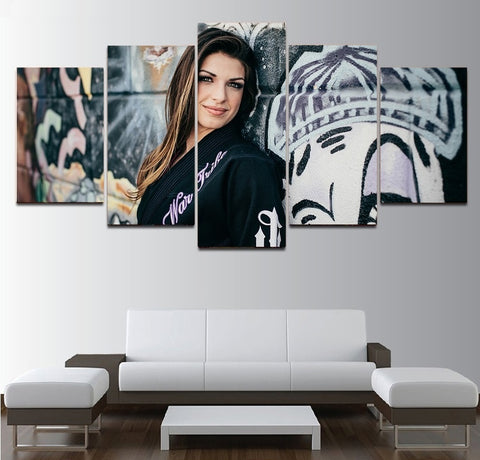 Mackenzie Dern Wall Art | Canvas Decor Poster Framed | 50% Off