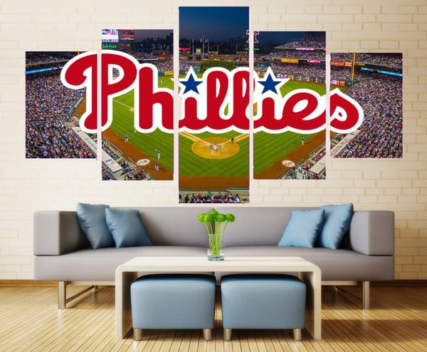 Philadelphia Phillies Wall Art Poster HD Print Home Decor Canvas Painting.