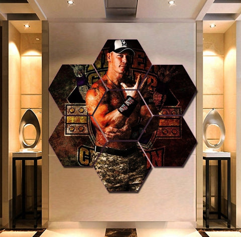 WWE John Cena Wall Art | Canvas Painting Framed
