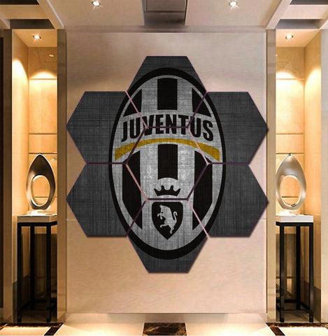 Juventus FC  Wall Art | Canvas Painting Framed | Free Shipping