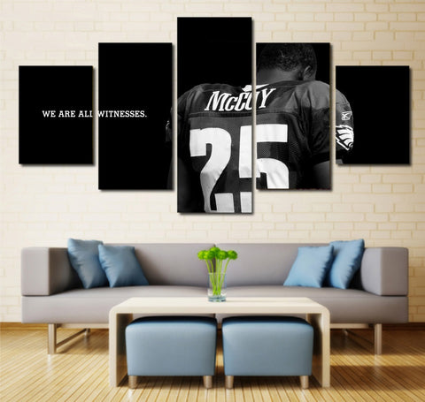 LeSean McCoy wall art canvas eagles