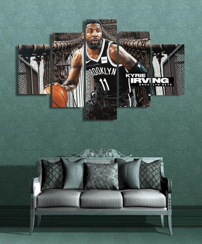 Kyrie Irving Wall Art | Painting Canvas Framed