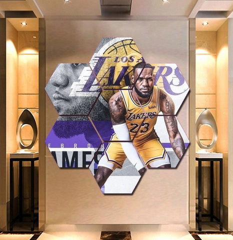 Lakers Lebron James Wall Art