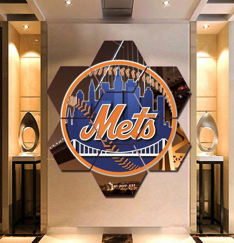 New York Mets Canvas Wall Art | Decor Painting Framed