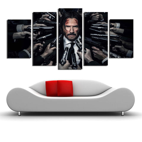 Keanu Reeves John Wick canvas