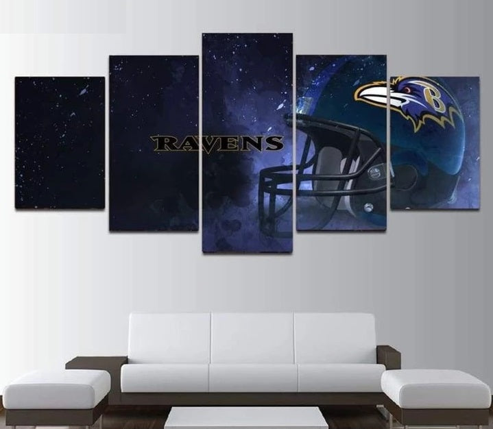 Baltimore Ravens Wall Art Canvas