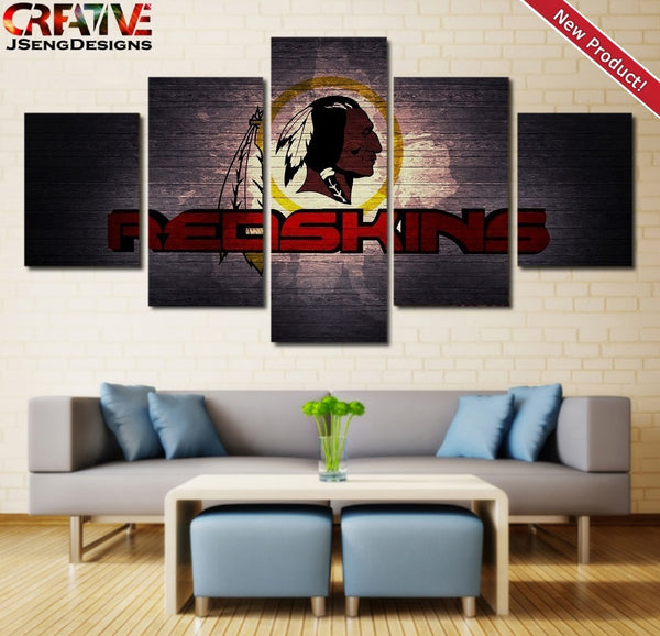 Washington Redskins Wall Art Canvas Print Home Decor Painting Poster NFL.