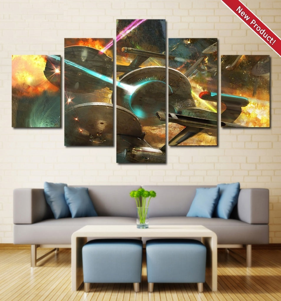 star trek wall art