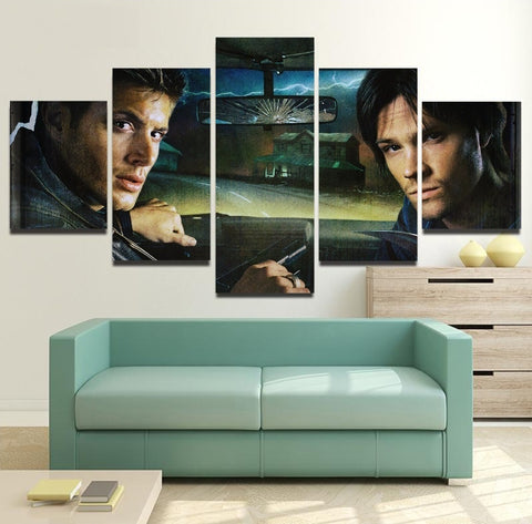 Supernatural Wall Art | Painting Canvas Framed  | Free Shipping