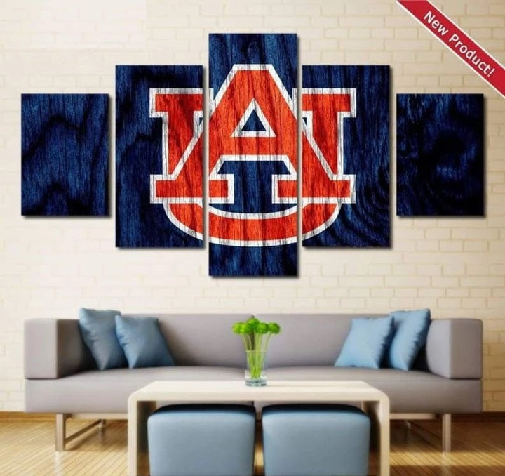 Auburn Tigers Wall Art Canvas Painting