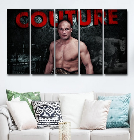 Randy Couture Wall Art Canvas Decor Poster Framed