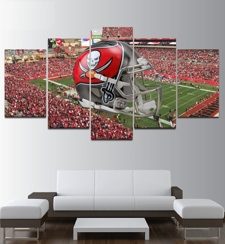 Tampa Bay Buccaneers Wall Art | Canvas Painting Framed